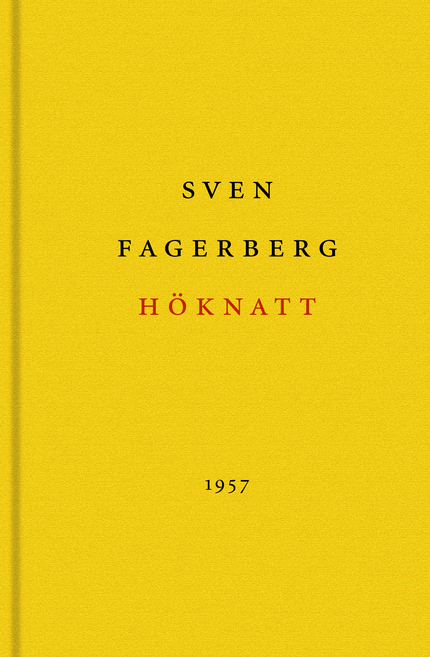 Sven Fagerberg Höknatt